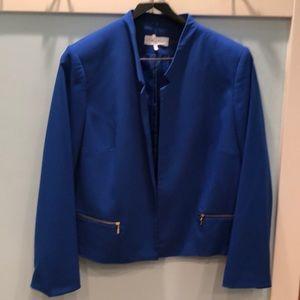 Calvin Klein royal blue blazer